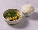 【TO GO】Longrain シーフードグリーンカレー Signature seafood green curry