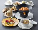 【ふかひれ御膳】ふかひれスープ、海老チリチーズフォンデュなど全7品(土日祝)