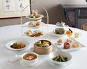 重慶飯店個室 チャイナタウンのアフタヌーンティー