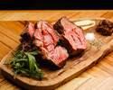 2名様~OK‼【飲み放題付きプラン!!】春の前菜とアメリカンビーフの1ポンドステーキコース…5000円※お肉はお一人様増える場合、一人様あたり150g追加となります。