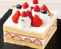 【レストランでのお祝いに】ストロベリーショートケーキ 15cm