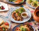 22日〜(B+2HFD)【お得No1】名物生麺パッタイ&大山鶏カオマンガイなどタイ定番料理が楽しめるプラン ¥3580 全7皿8品