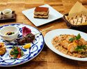 Weekend Lunch Course at Indoor Counter