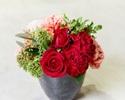 ▼【5月末日迄★母の日ランチ】メッセージプレート&お花の贈り物に想いを込めて。。。おおいた和牛特別コース