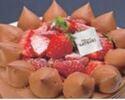 4号(12cm)チョコレートショートケーキ ¥3,240(税込)