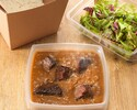[Takeout] Awaji Kunugiza Beef Curry (with Salad)