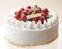 Celebration cake 18 cm round type 6,500 yen (for 7 to 10 people)