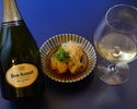 Kaiseki course with wine pairing (5 glasses) 25,300JPY(税込)