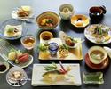 川床懐石料理 9,900円(7~9月限定)