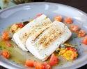 【平日限定★ドリンクバー付きランチコース】前菜・パスタ・魚料理と肉料理から選べるメイン・デザートなどフルコース全5皿