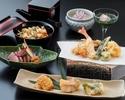 天ぷらコース 若葉