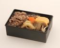 【人気】黒毛和牛の温かすき焼き弁当