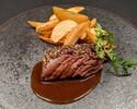 【Lunch】Sirloin Steak with Semi order buffet