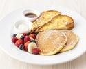 【TAKEOUT】フレンチトースト&パンケーキ  Fluffyfrench toast &Ricotta Pancakes