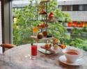 Afternoon tea & seasonal fruit cocktails made by bartenders
