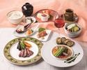 【レディースランチ】オーストラリア産牛フィレ・魚料理他全9品