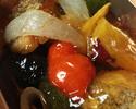 白身魚と季節野菜の揚げ出汁(おかずのみ)