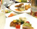 【ノンアルコール飲み放題 個室宴会プラン】~PREMIUM~プレミアムプラン  牛ロース肉のグリエがメインの9品