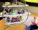 【アフタヌーンティー】八女抹茶を使ったセイボリー&スイーツ+充実のドリンクと一緒に