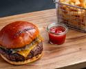 事前決済【The Steakhouse】テイクアウト オーストラリアンバーガー 1,900円