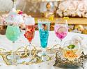 ★組数限定★【おとな】土日祝:大人気モクテル🍸フリーフロー マリー・アントワネットが招く ヴェルサイユ宮殿のスイーツブッフェ