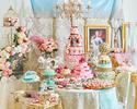 ★テラスde満喫★【おとな】平日:マリー・アントワネットが招く ヴェルサイユ宮殿のスイーツブッフェ