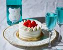 ◆大人/土日【ランチブッフェ】幸せの青い泡で乾杯+ホールケーキ+思い出のバラ!海と大地の恵み×北海道食材を堪能.