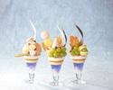 【7・8月】岡山県産白桃のフルーツパフェ