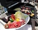 平日BBQ【肉×野菜】目の前には海が広がるバーベキュー!【ライトプラン】手軽に手ぶらでBBQ!