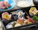 【旬彩弁当】小鉢、造り、焚合、季節の盛り込みなど