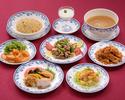 【水仙】フカヒレスープ、真鯛の蒸し物、冷やし担々麺など全8品