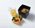 【Take Out】 Lunch Box Summer Vegetable and Chilled Noodle with Chinese Herbal Soup