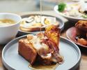 【モーニング】朝活応援!大人気ブリオッシュのフレンチトーストなど、選べるメイン付の優雅なモーニングセット