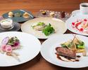 「神戸牛」「拘りの魚料理」ダブルメインのフルコース お料理5品とデザート2品