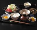 【ぬれ縁席】黒毛和牛すき鍋ランチ【平日限定20食】