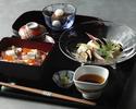 【ぬれ縁席】揚げ茄子素麺と海鮮ばらちらし【夏季平日限定】