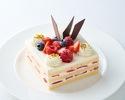 ストロベリーショートケーキ 11cm角型