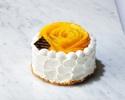 【Take Out】 Mango Whole Shortcake 15cm