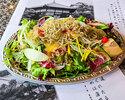 【テイクアウト】六角堂こだわりサラダ店内仕立て(3人盛)
