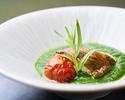【Lunch】6月30日限定開業の日ランチ 前菜、魚料理、肉料理、デザート+サラダバー全5品