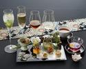 【日本料理×ノンアルコールペアリング6種】 一期一会 〈テーブル席〉