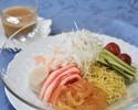 Seafood cold noodles