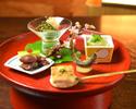 鱧や鮑・産直旬魚介に夏野菜で彩る夏の味覚を堪能する季節懐石【旬彩】