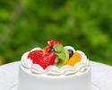 テイクアウトメニュー 「アニバーサリーケーキ」4号サイズ