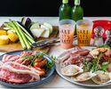 平日BBQ【肉×オマール海老やホタテの海鮮×野菜】オーシャンビューバーベキュー!【スタンダードプラン】