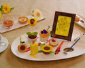 Sunflower Afternoon Tea Set with Drink