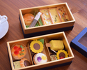 <TO GO> Sunflower Afternoon Tea Box