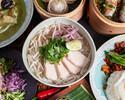 อาหารจานหลักและเส้นก๋วยเตี๋ยวที่สามารถเลือกได้! รวม 10 คอร์สอาหารเอเชียแบบจุใจที่รวมต้มยำกุ้งยอดนิยม
