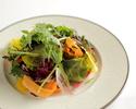 【公式オンライン限定プランA】旬菜のサラダ、国産牛サーロインローストビーフなど全4品