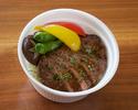 【Take Out】牛フィレ肉の和風ステーキ丼
